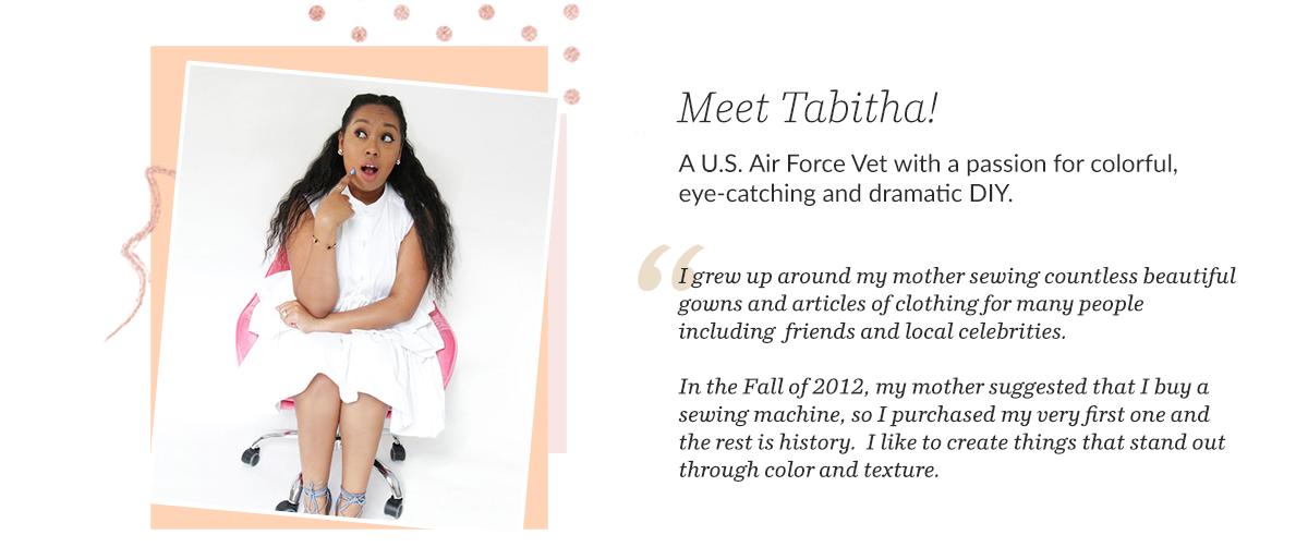 Tabitha Sewer - Black DIY Blogger + Maker   Spoonflower Blog
