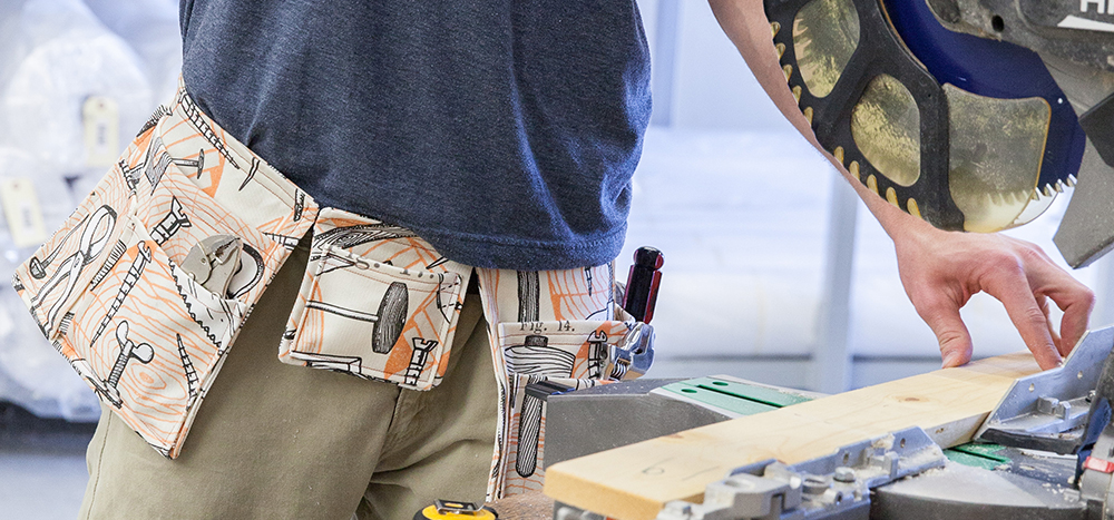 Get Organized with this DIY Tool Belt   Spoonflower Blog