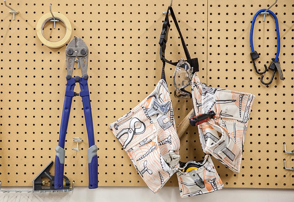 Get Organized with a DIY Tool Belt   Spoonflower Blog