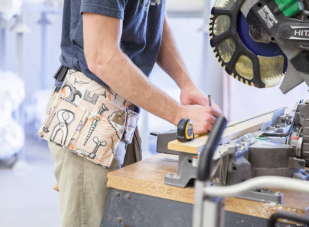 Get Organized with this DIY Tool Belt How-To | Spoonflower Blog