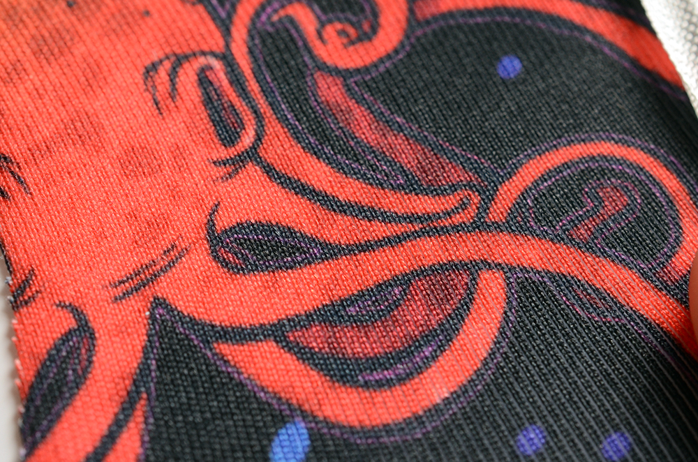 Close-up of Sport Lycra | Spoonflower Blog