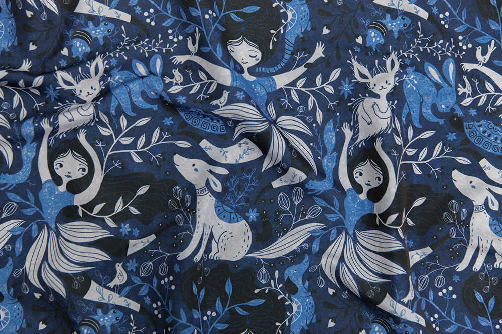 Announcing the Monochrome design challenge winner: gaiamarfurt | Spoonflower Blog