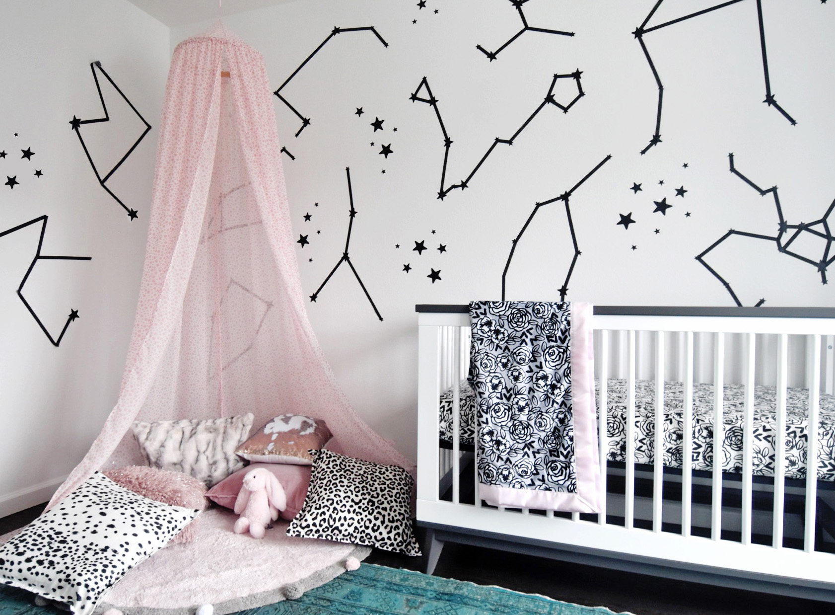 Sleep Under the Stars with a DIY Canopy | Spoonflower Blog