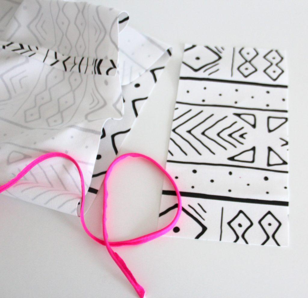 Ein buntes DIY-Yogakissen nähen / Spoonflower Blog
