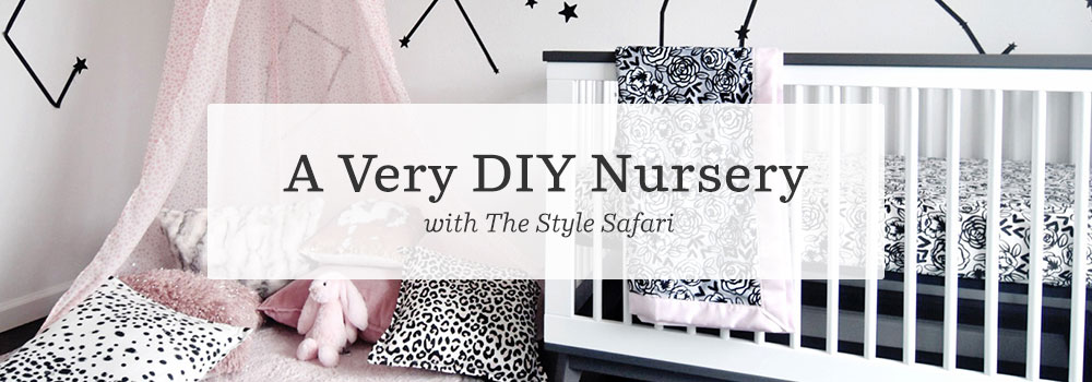 A very DIY nursery with The Style Safari | Spoonflower Blog