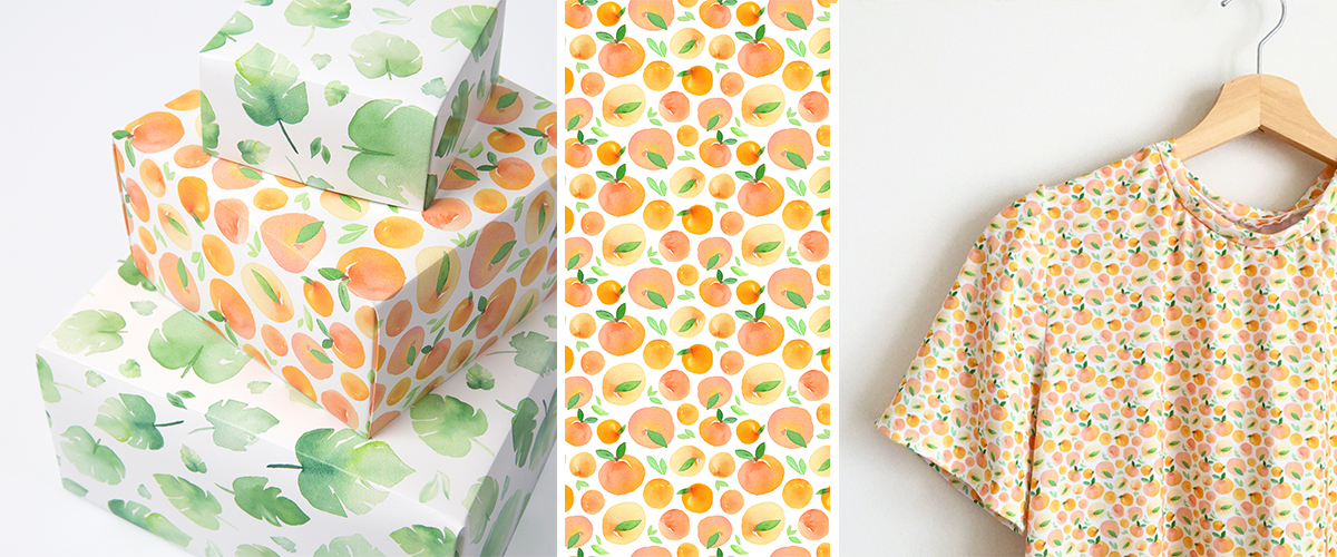 Meet the Designer: Dinara May | Spoonflower Blog