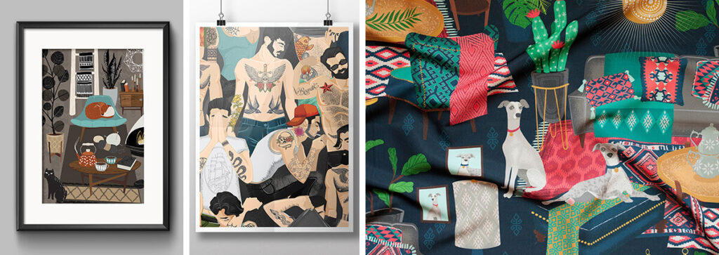 Meet the Designer: Michael Zindell | Spoonflower Blog