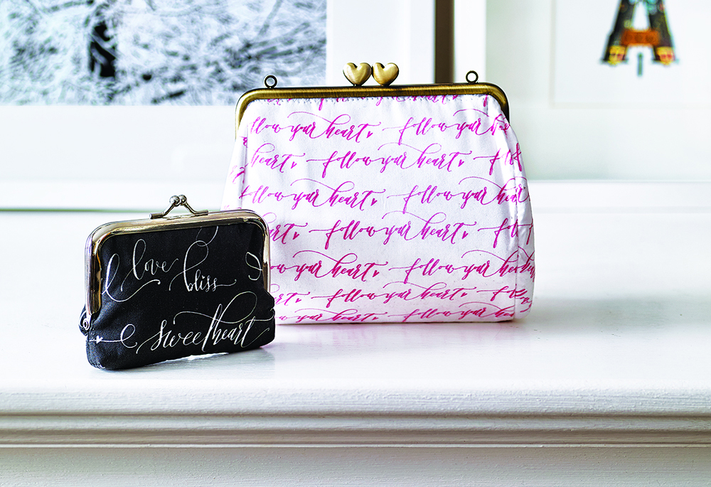 Turn Your Hand Lettering into a Fabric Design: Backgrounds and