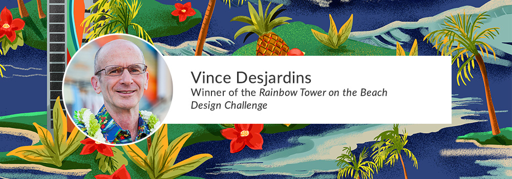 The Weekly Design Challenge Finds a Place in Paradise | Spoonflower Blog