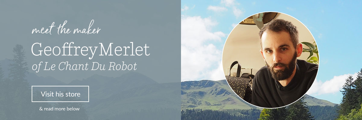 Meet the Maker: Geoffrey Merlet of Le Chant Du Robot | Spoonflower Blog