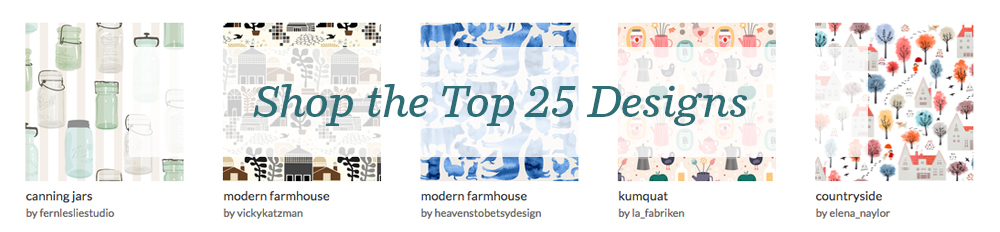 Shop the top 25 Modern Farmhouse designs | Spoonflower Blog