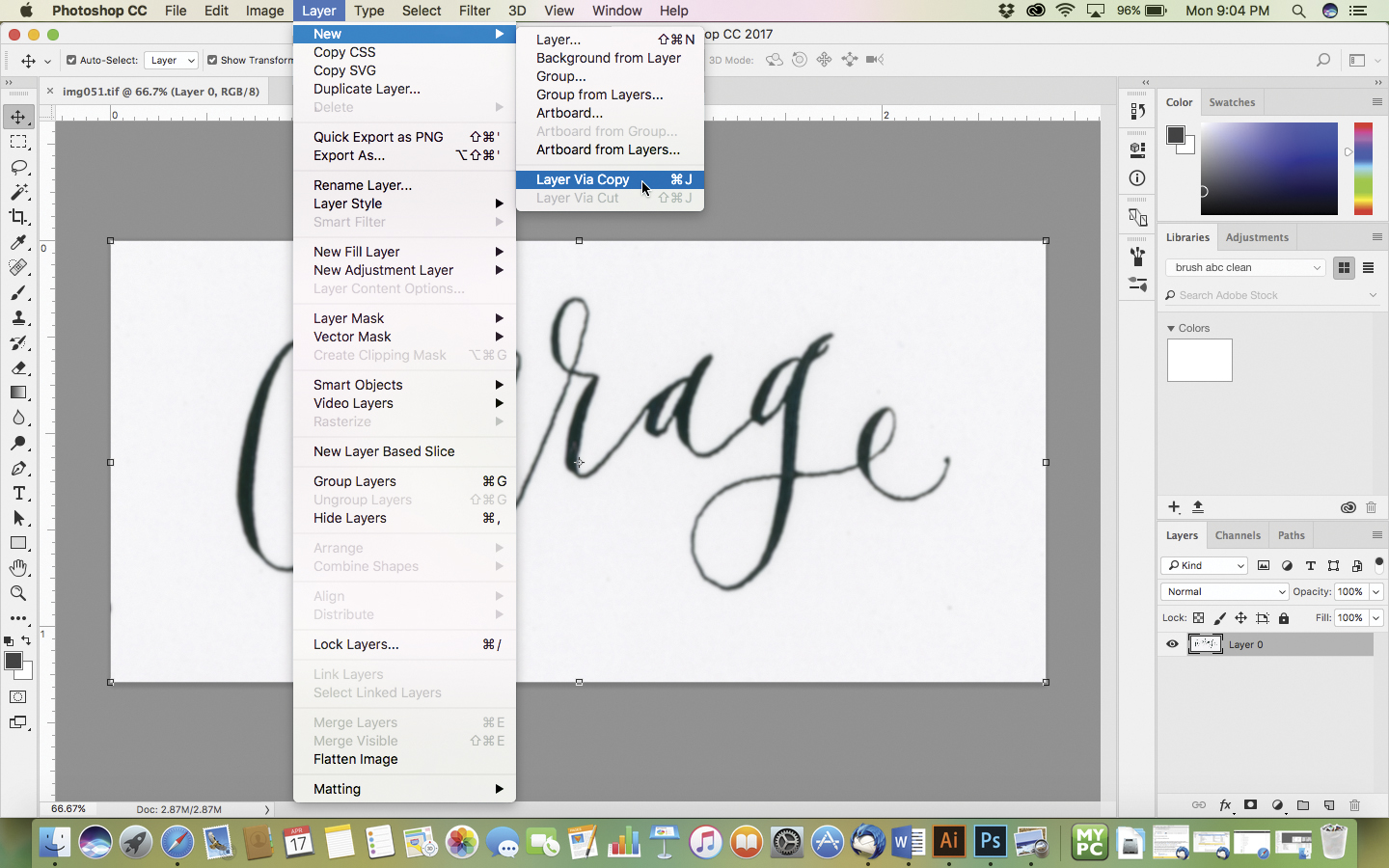 Turn Your Hand Lettering Into a Fabric Design | Spoonflower Blog