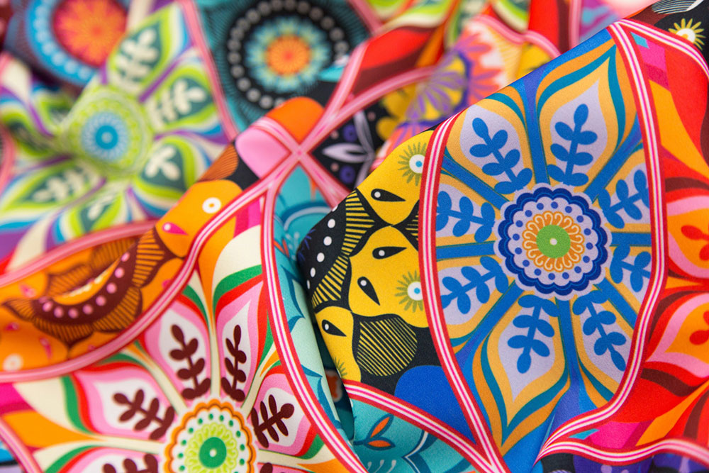 First place in the Marrakesh Design Challenge: Moroccan Bazaar by camcreative | Spoonflower Blog