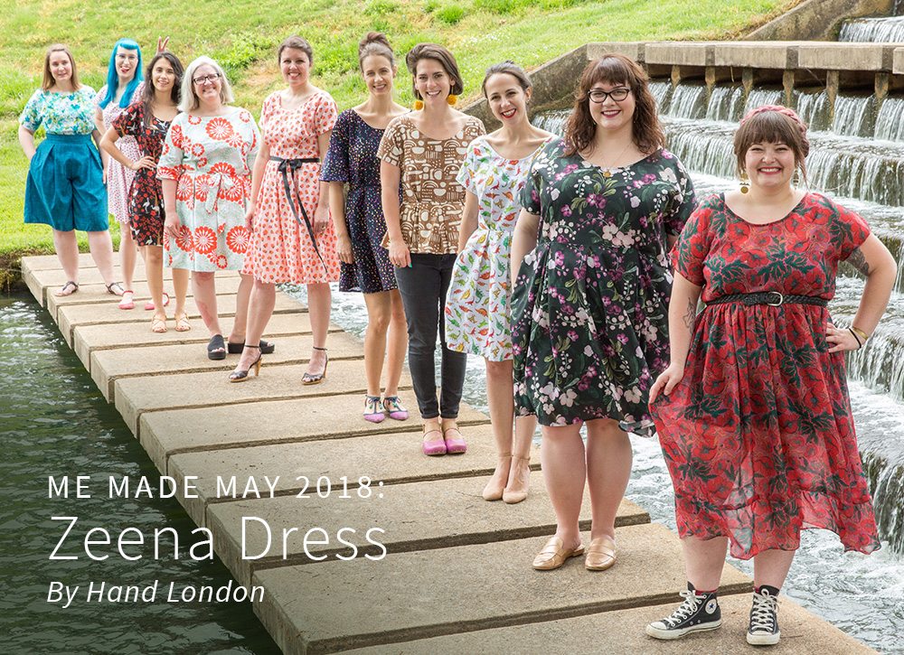 10 Ways to Customize the Zeena Dress for Me Made May | Spoonflower Blog