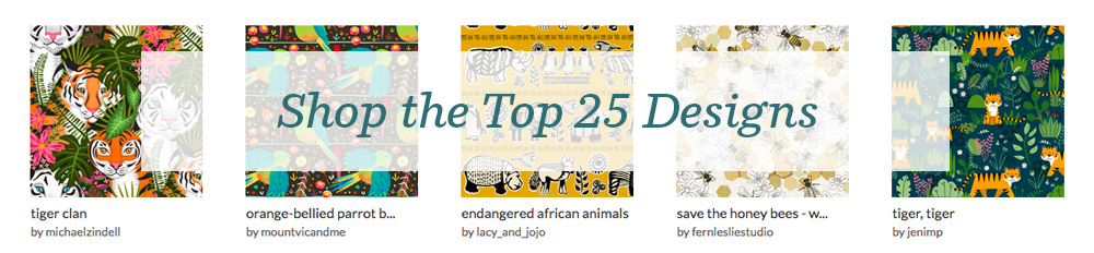 Shop the top 25 Endangered Animals designs | Spoonflower Blog