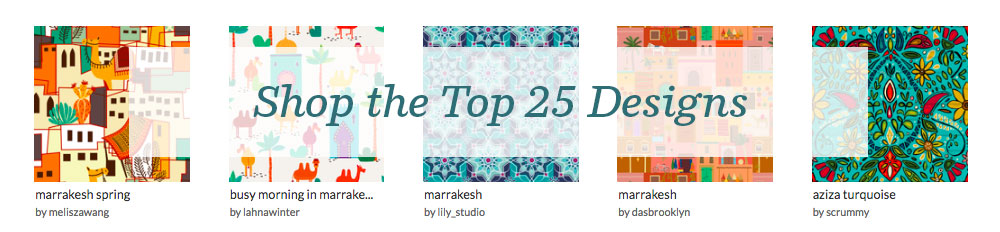 Shop the top 25 Marrakesh designs | Spoonflower Blog
