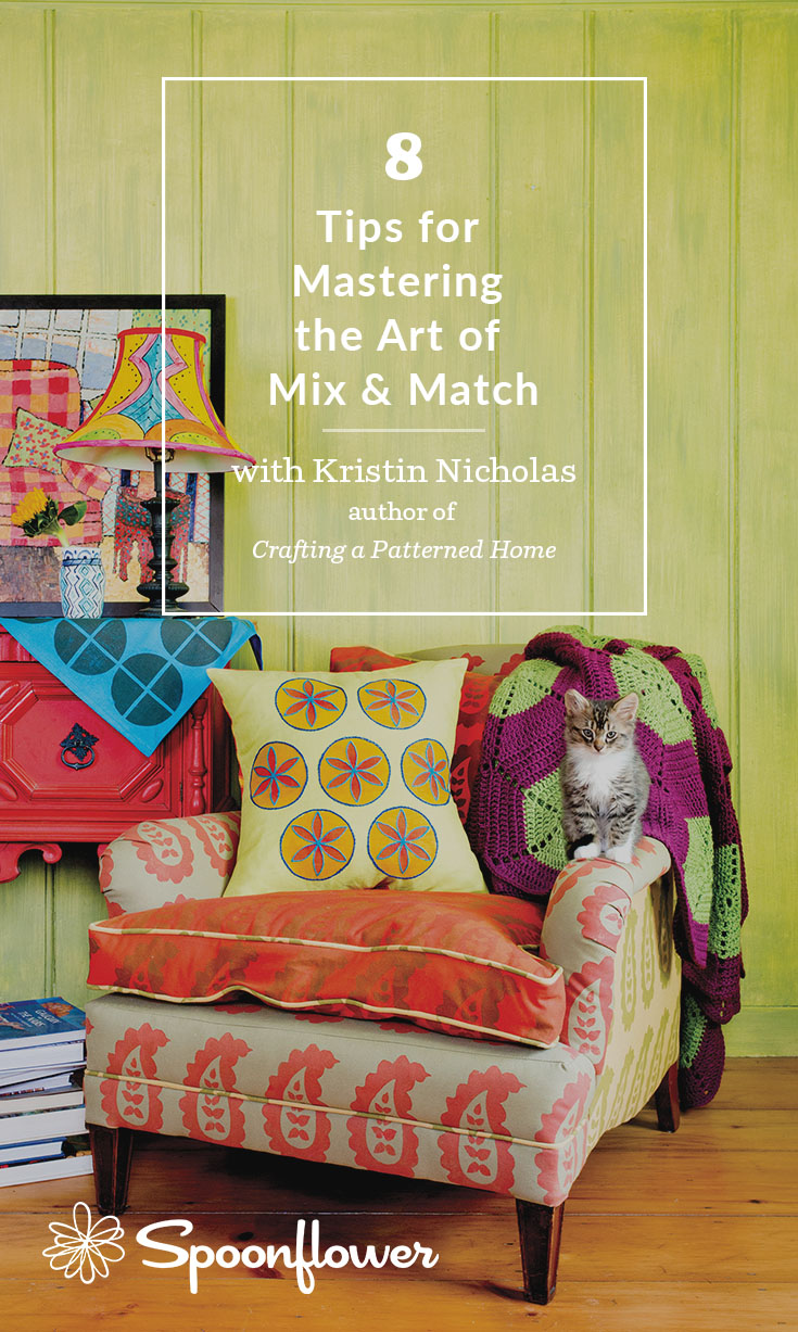 Master the Art of Mix & Match with These 8 Tips | Spoonflower Blog