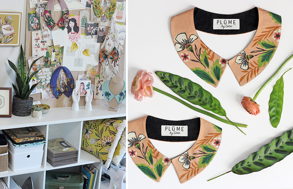 Meet the Maker: Cece Merkle of Plūme by Cece | Spoonflower Blog