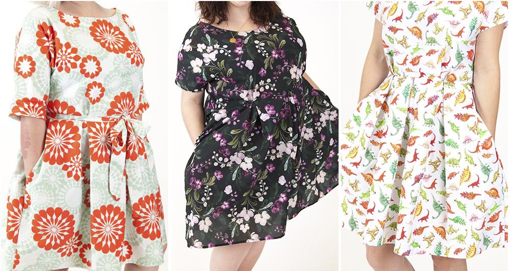 4 Arten um das Zeena Kleid von Hand London zu stylen
