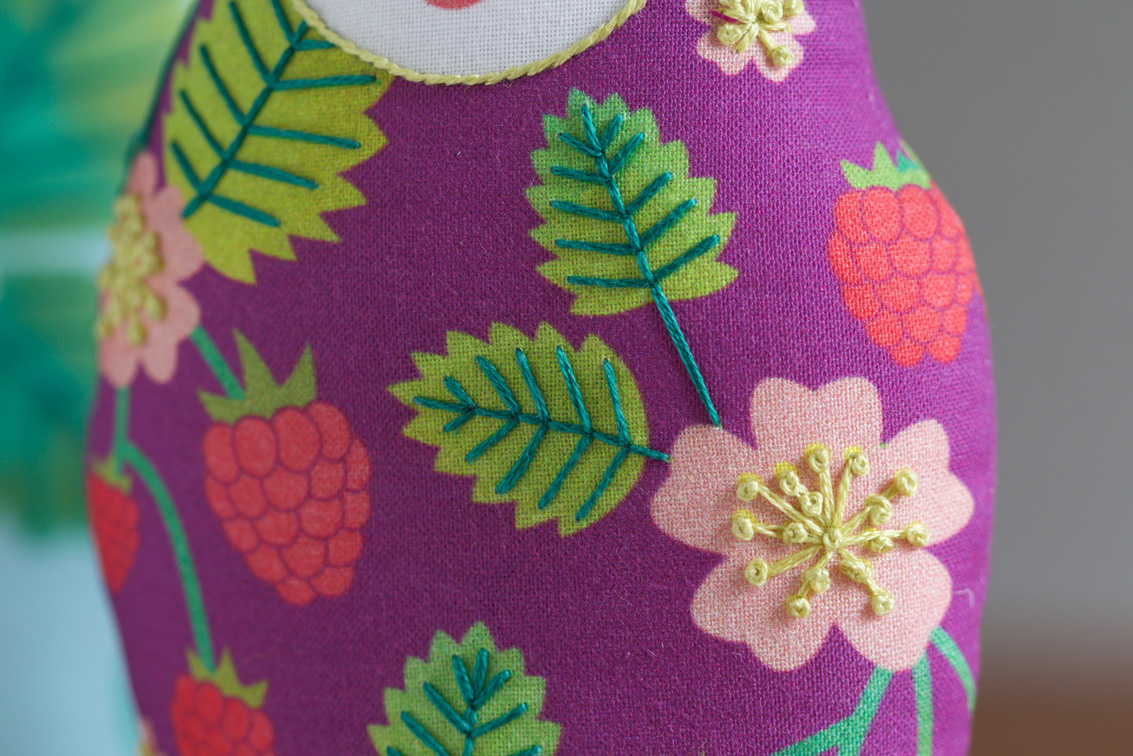 DIY Matryoshka Nesting Dolls with kirikipress | Spoonflower Blog