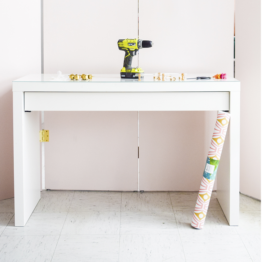 How To Customize a Bar Cart In Under An Hour | Spoonflower Blog