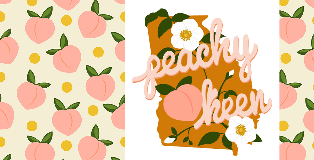 Meet the Designer Janine Lecour of lapetitelecour | Spoonflower Blog