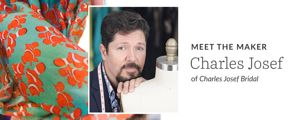 Meet the Maker: Charles Josef of Charles Josef Bridal | Spoonflower Blog