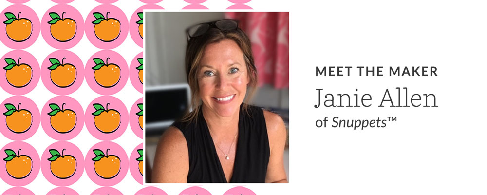 Meet maker Janie Allen of Snuppets | Spoonflower Blog