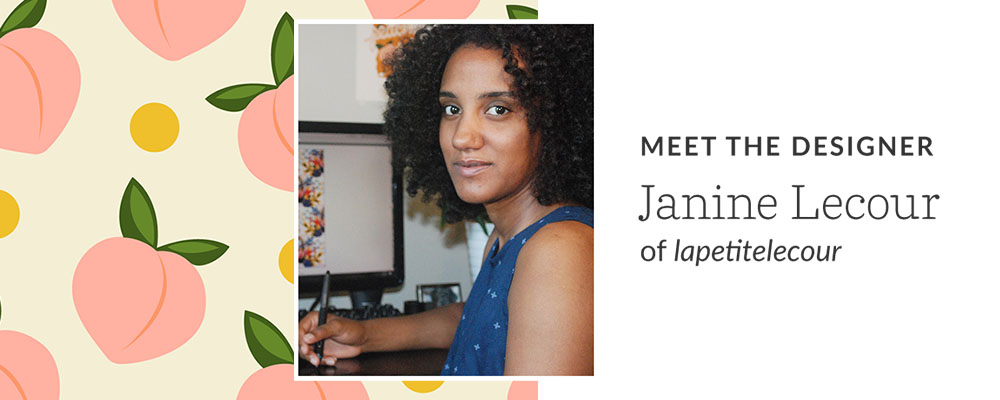 Meet the Designer: Janine Lecour of lapetitelecour | Spoonflower Blog