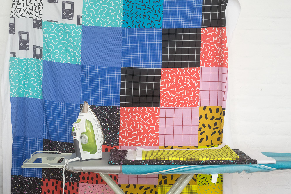 Make a Totally Rad '80s Inspired Quilt with Fill-a-Yard | Spoonflower Blog