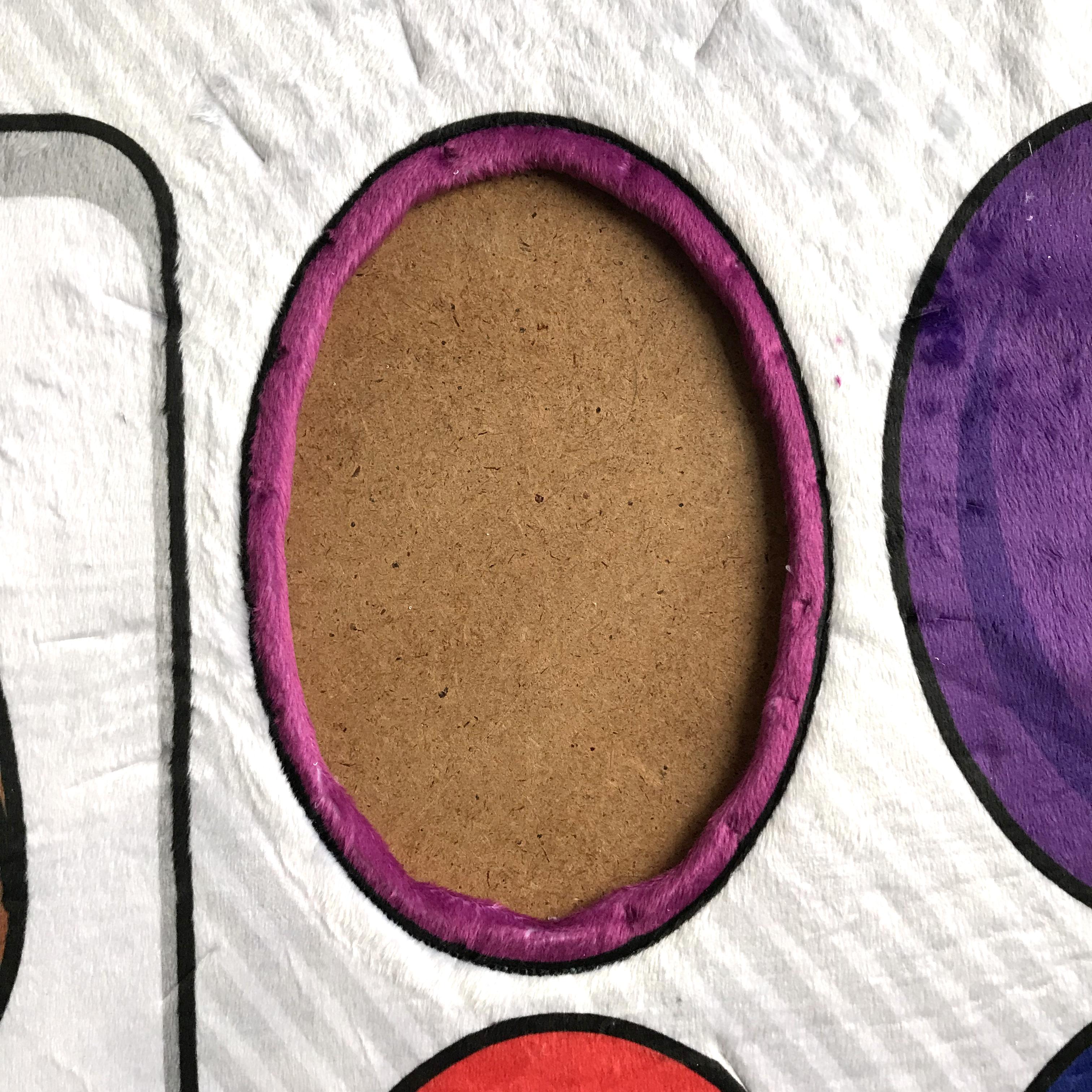 Nähanleitung Faschingskostüm für Kinder: ein Künstler-Farbkasten
