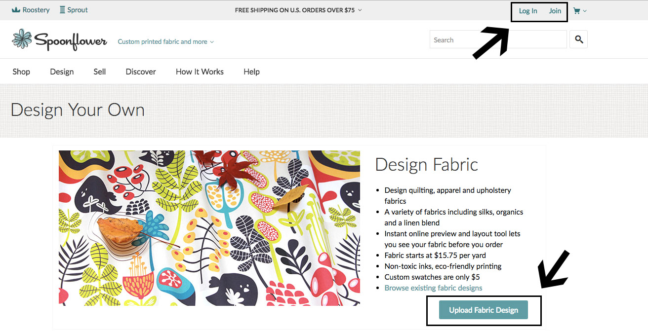 How to Print Fabric Posters at Spoonflower with PowerPoint | Spoonflower Blog