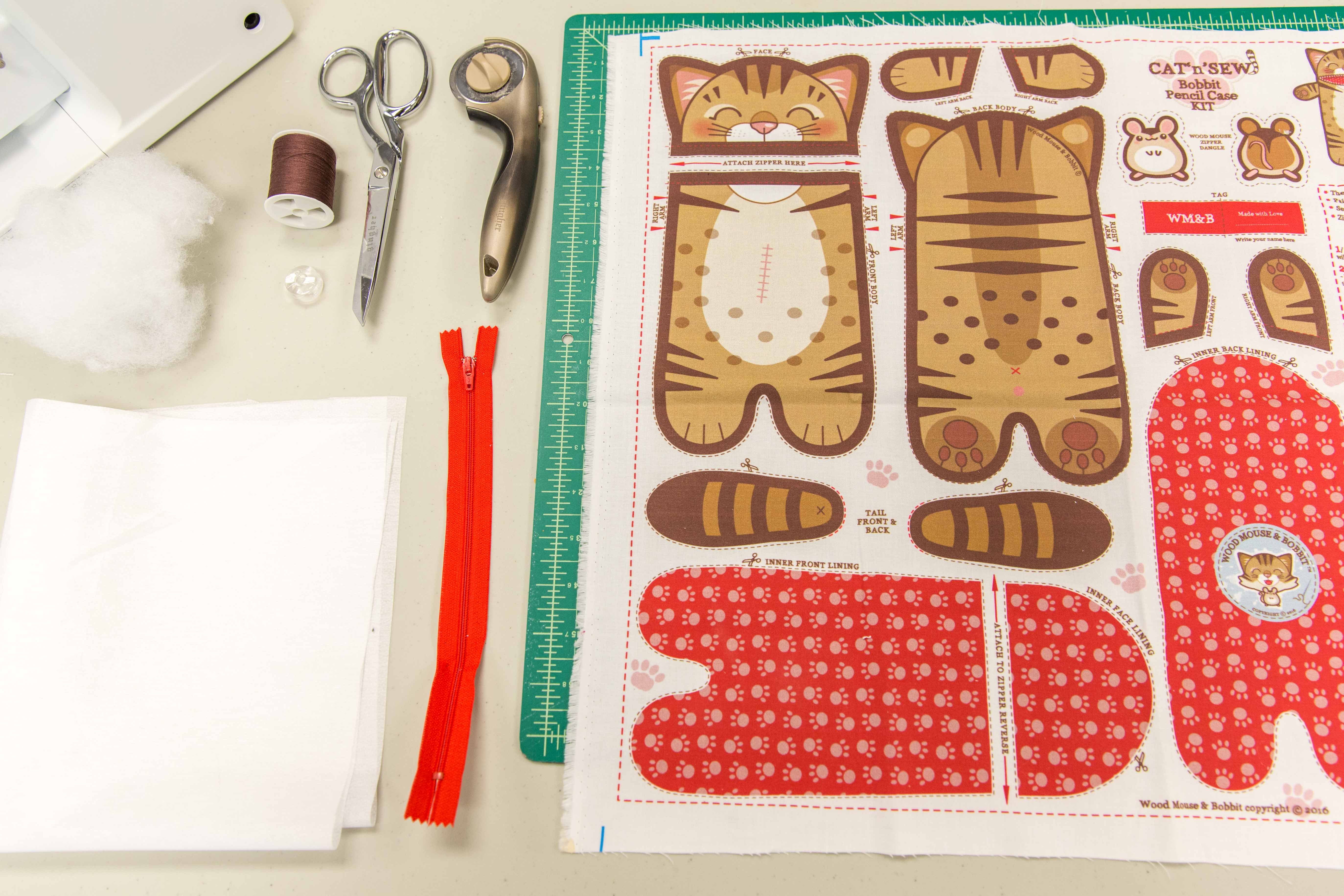 Sew Up the Purrrfect Cat Zipper Pouch | Video Tutorial | Spoonflower Blog