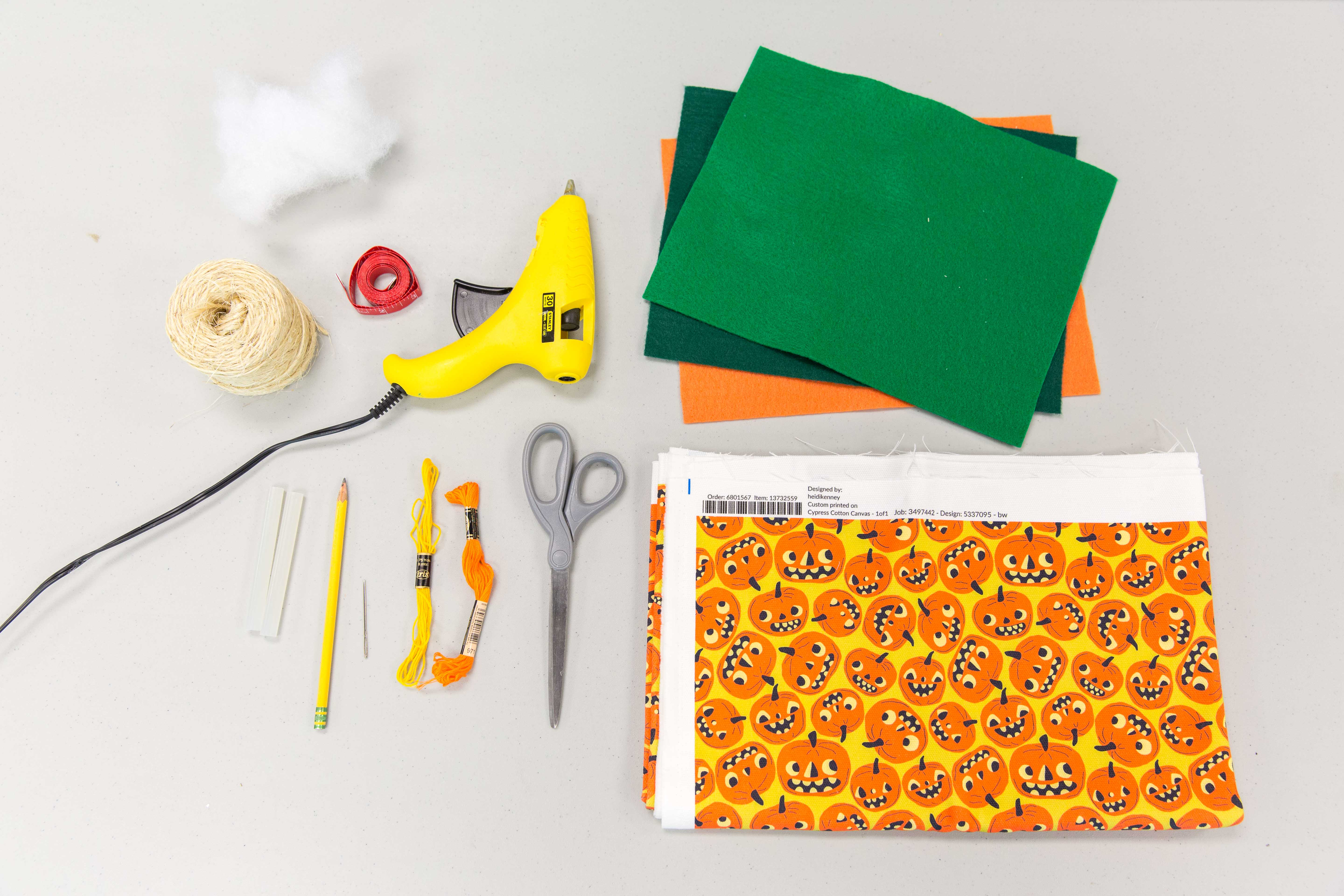 DIY No-Sew Pumpkin Plushies for Halloween | Spoonflower Blog