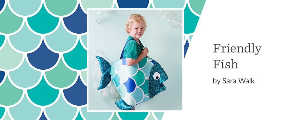 5 DIY Kid's Costumes to Make This Halloween - Friendly Fish | Spoonflower Blog
