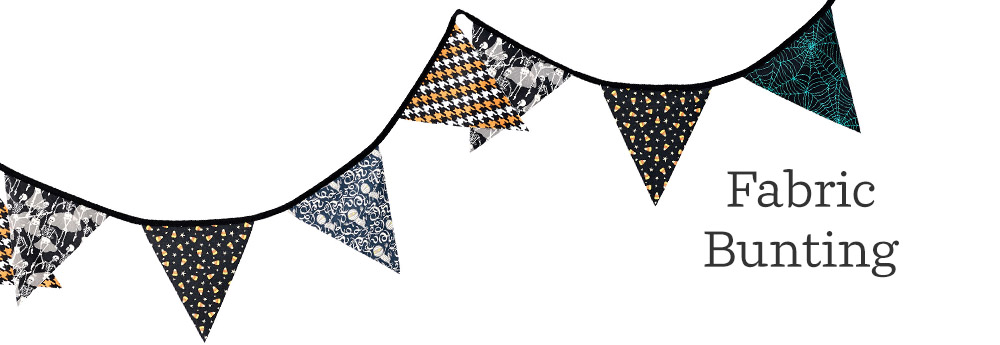DIY Halloween Bunting So Easy It's Scary! | Spoonflower Blog