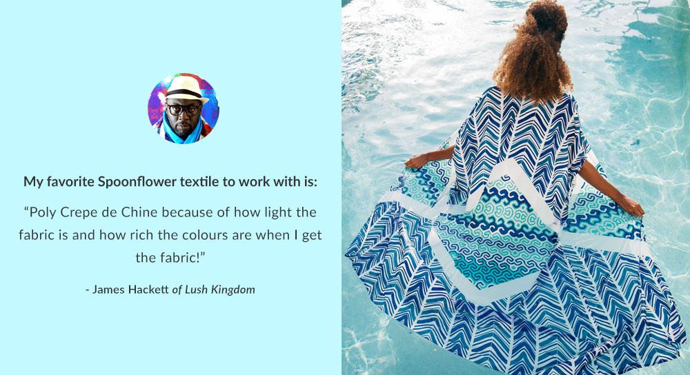 Spoonflower's Polyester Fabrics | Spoonflower Blog
