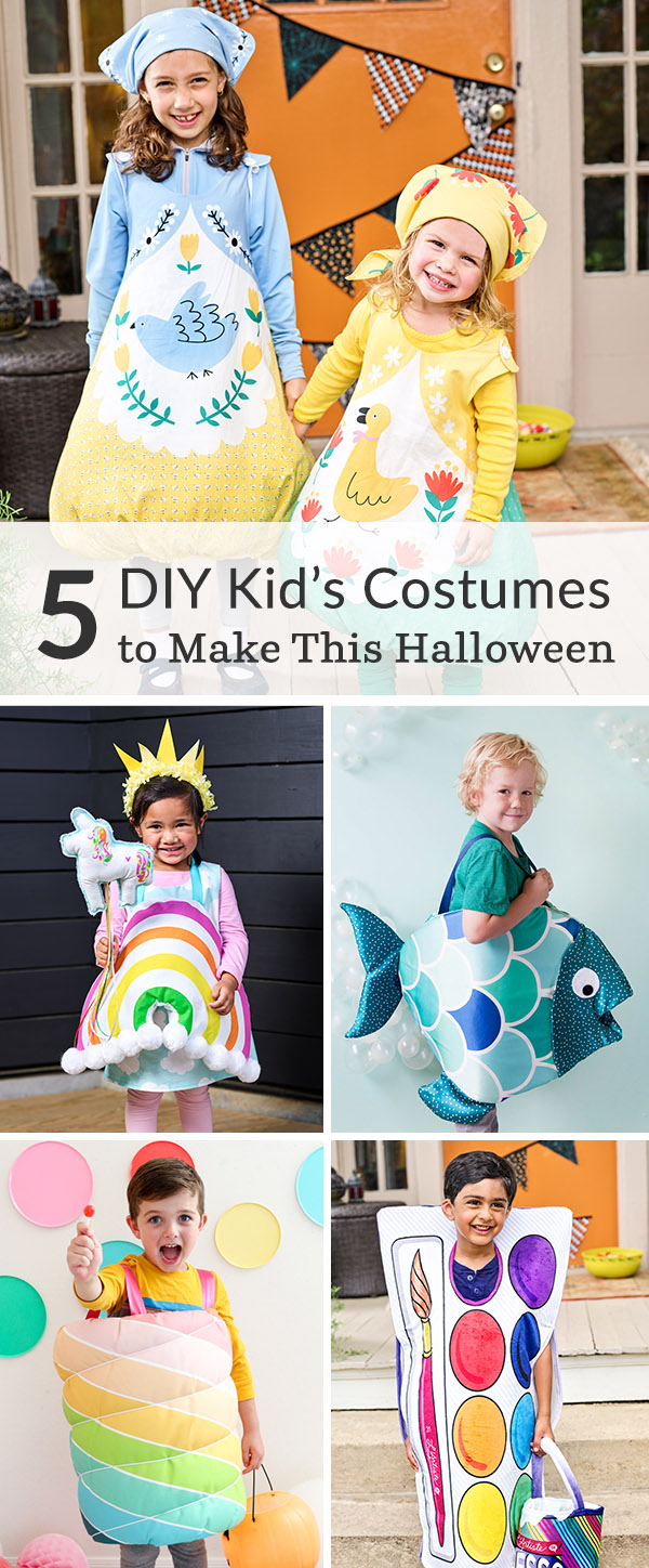 5 DIY Kid's Costumes to Make This Halloween | Spoonflower Blog