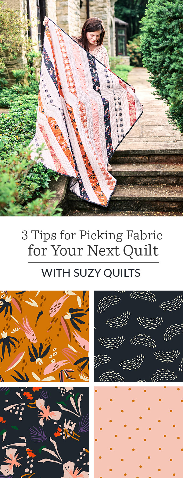 Twisted Ribbons: A Suzy Quilts for Spoonflower | Free Quilting Pattern Exclusive | Spoonflower Blog