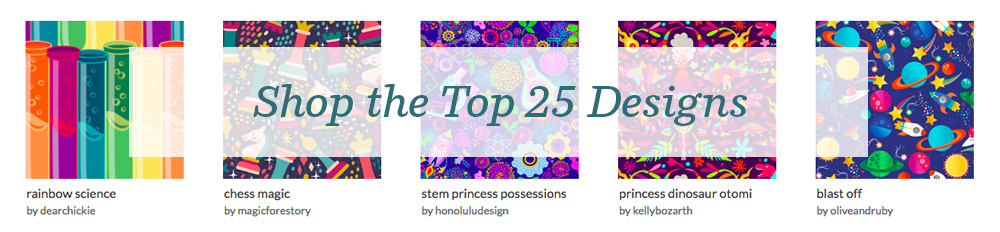 Shop the top 25 Princess Awesome designs | Spoonflower Blog