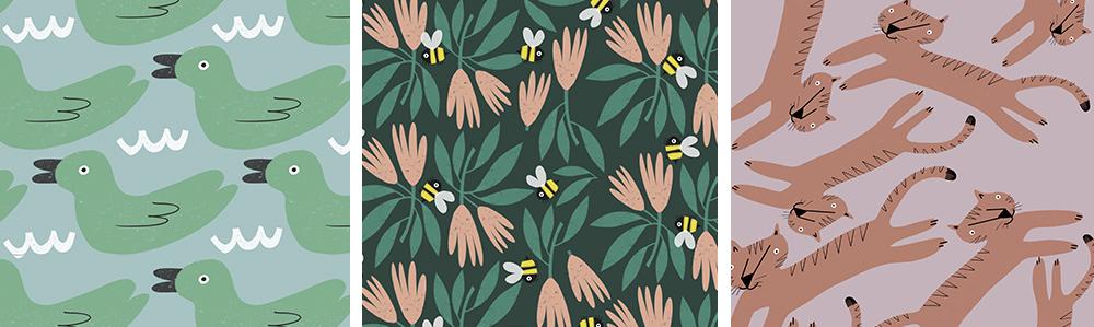 Mehr von Andas tollen Designsauf Spoonflower!