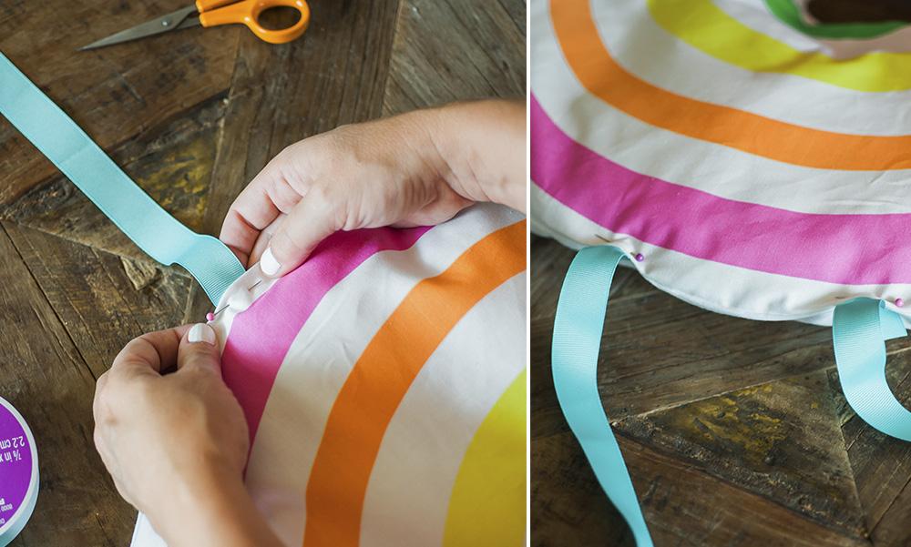 DIY Karneval Regenbogen Kostum für Kinder nähen aus Spoonflower Stoffe