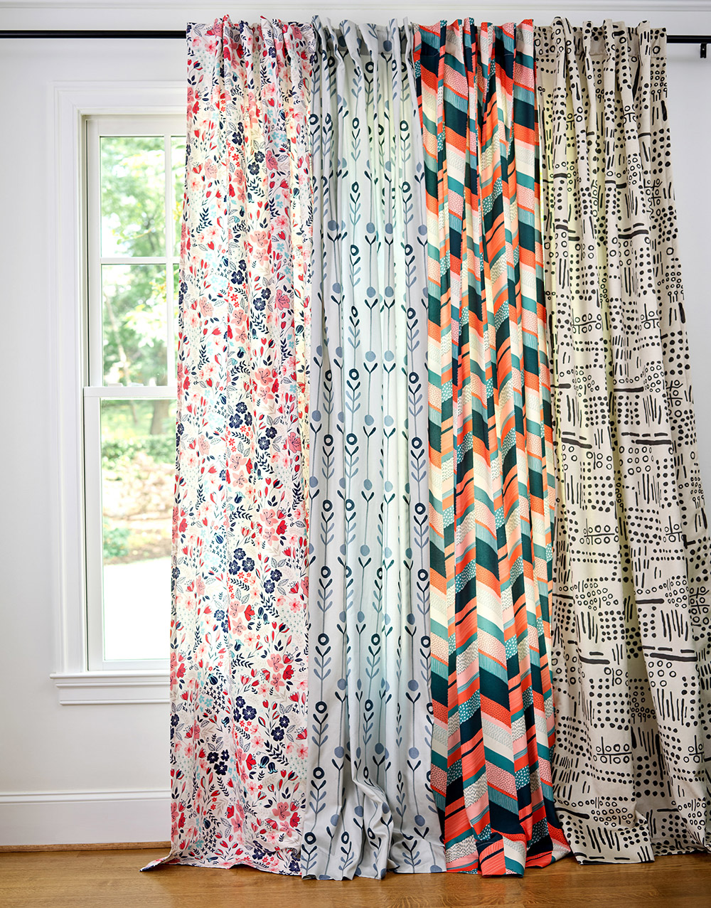 Curtain Call! Introducing Plymouth Curtains on Roostery | Spoonflower Blog