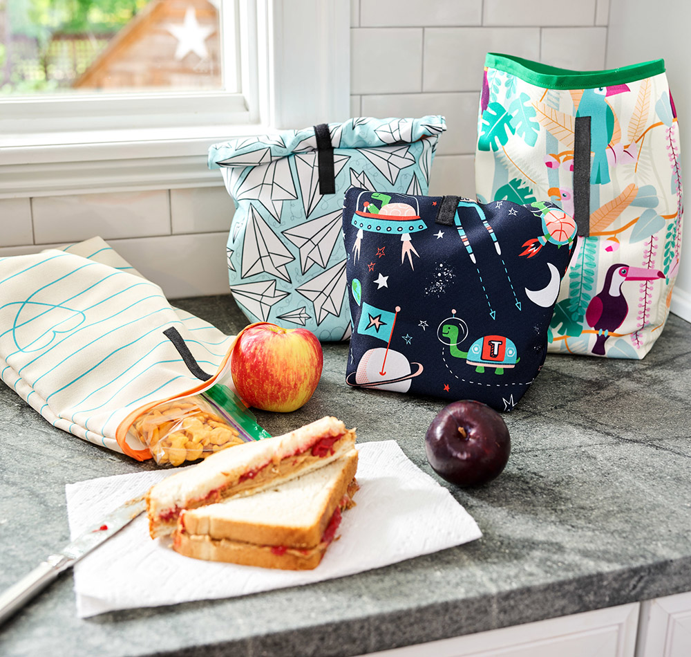 Umweltfreundliches DIY – Lunchbeutel für die Pause