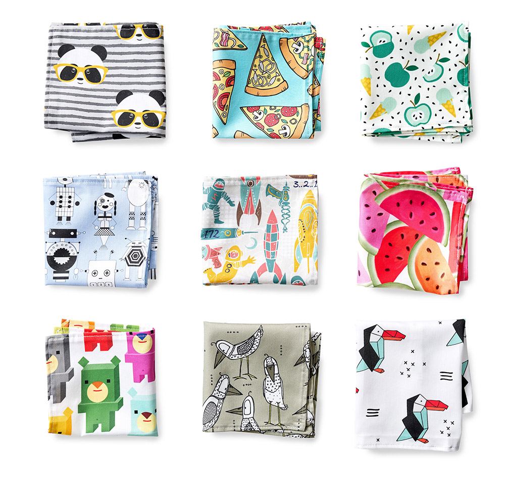 Ace Lunchtime with DIY Kid's Reusable Lunch Bags | Spoonflower Blog