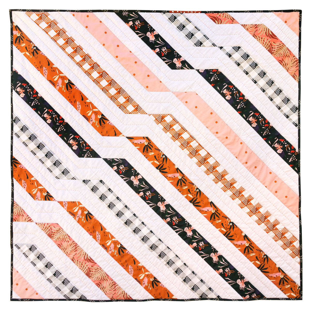 Twisted Ribbons: A Suzy Quilts for Spoonflower Free Quilting Pattern Exclusive | Spoonflower Blog