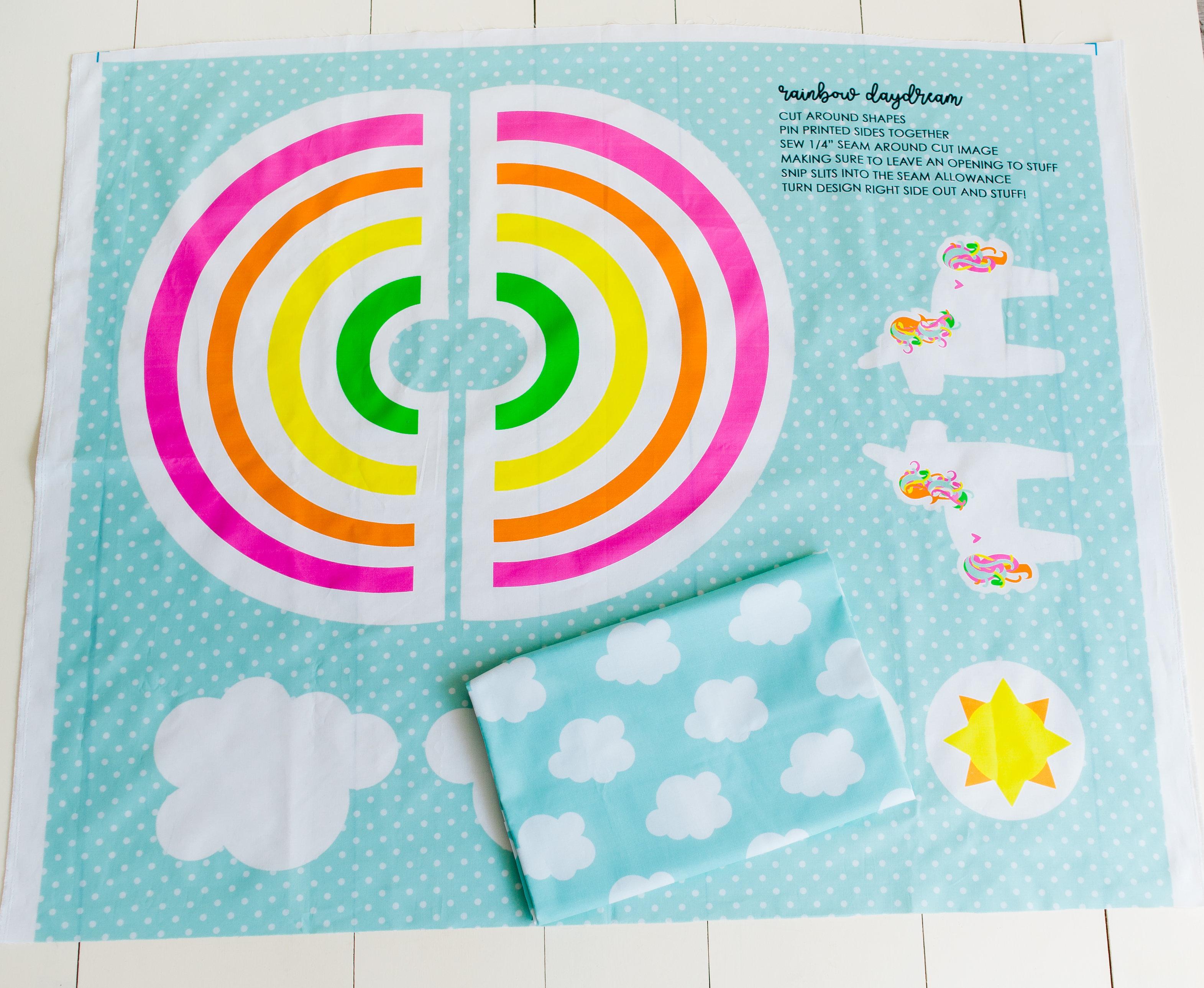 Nähanleitung Regenbogenkostüm für Kinder