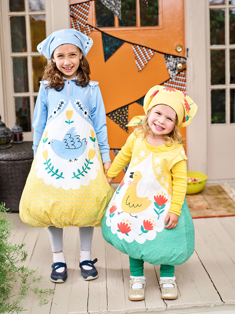Handmade Halloween: Cut-and-Sew Matryoshka Doll Costumes | Spoonflower Blog