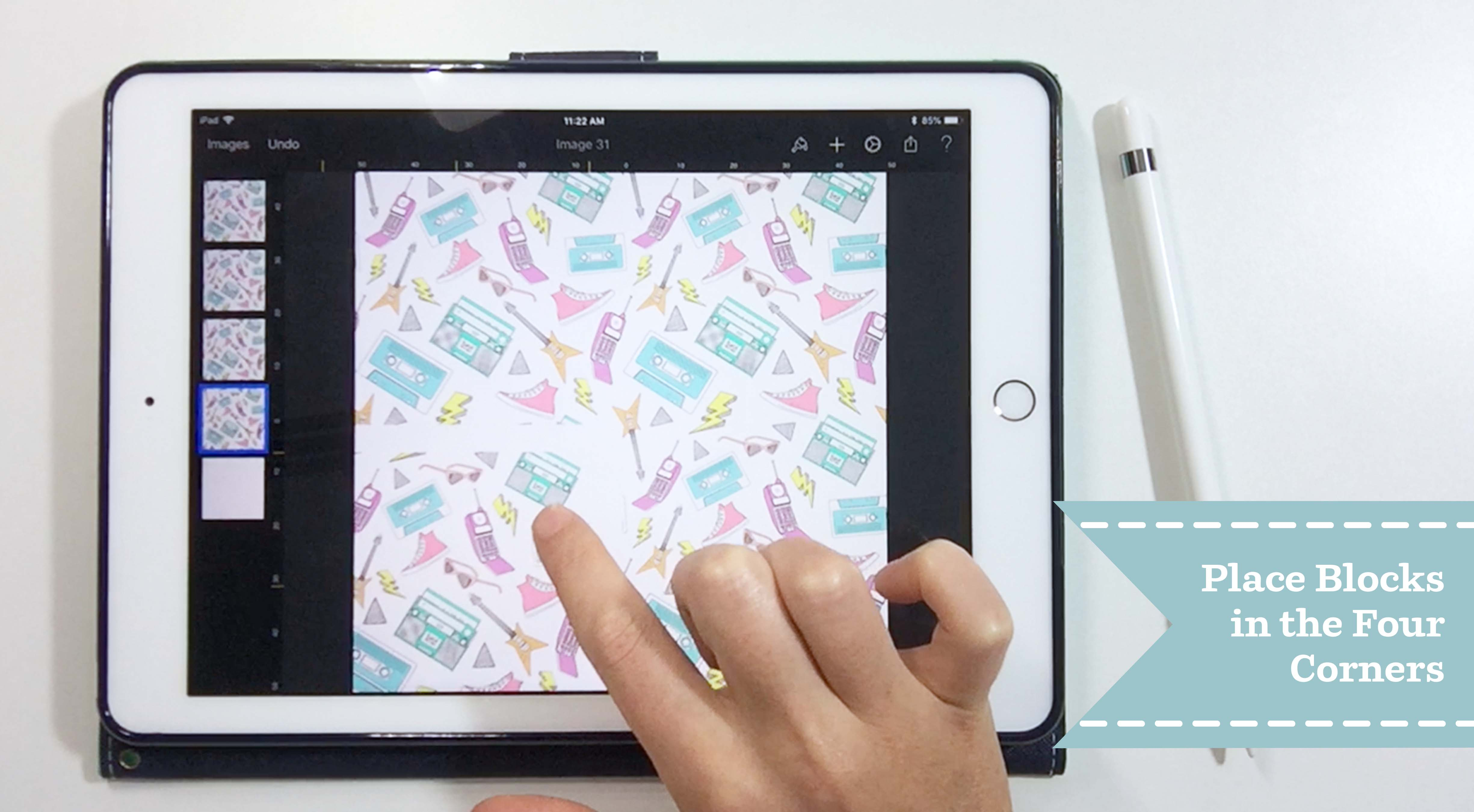 How to Create a Seamless Repeat on Your iPad with Pixelmator | Spoonflower Blog