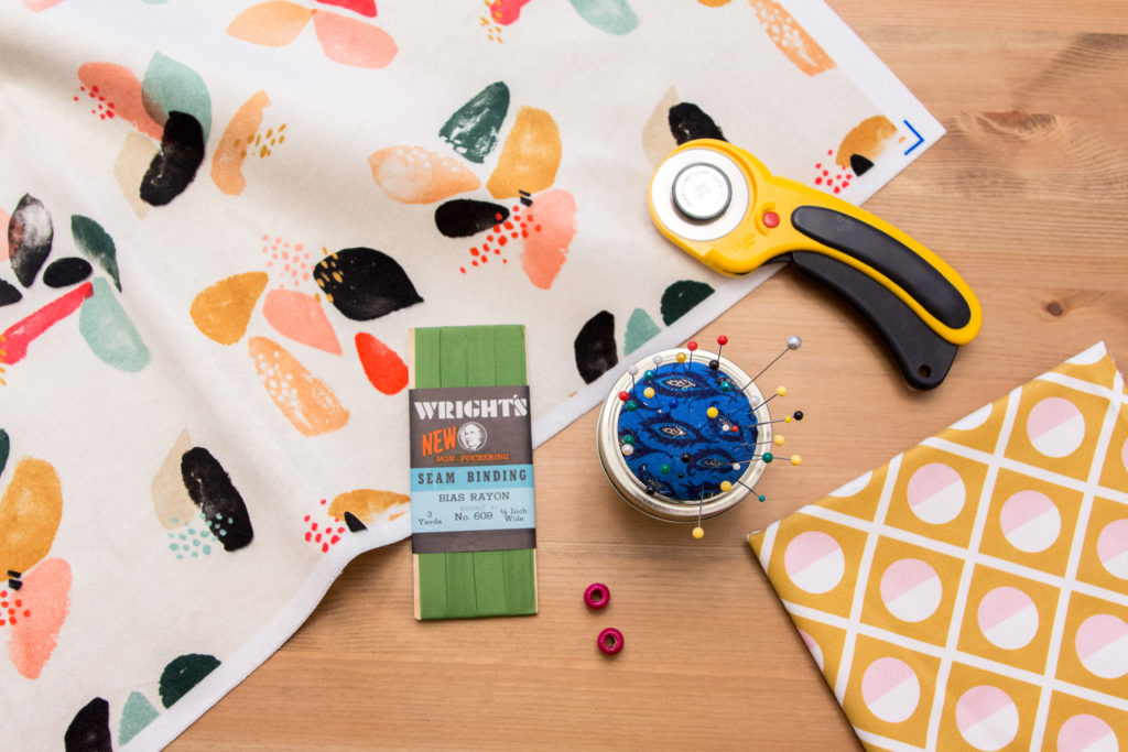 Pack Your Bags! This Fabric Makeup Brush Holder is Travel Ready | Spoonflower Blog
